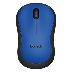Logitech Silent M220 Optik Wireless Mouse MAVİ