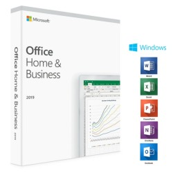 MICROSOFT Ms Office Home And Bus.2019 Esd Lisans T5d-03184