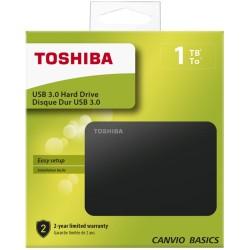 Toshiba 2.5 1TB USB 3.0 Canvio Siyah HDTB410EK3AA