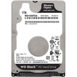 WD BLACK 2.5 1TB 64MB 7200RPM WD10SPSX