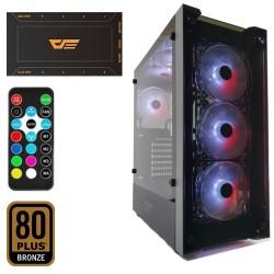 DarkFlash Skywalker 650W 80+Br RGB Mid Tower Kasa