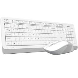 A4 Tech FG1010 Q Kablosuz MM Klavye Mouse Beyaz