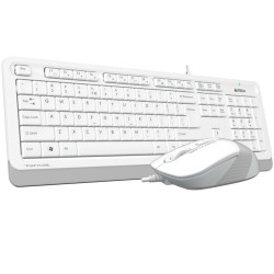A4 Tech F1010 MM Klavye Mouse Set Beyaz USB