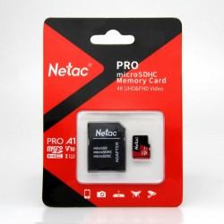 Netac 16GB MicroSDHC V10/U1/C10 NT02P500PRO-016G-R