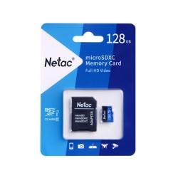Netac 128GB MicroSDXC U1/C10 NT02P500STN-128G-R