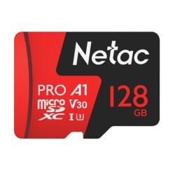 Netac 128G MicroSDXC V30/A1/C10 NT02P500PRO-128G-R