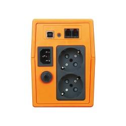 MAKELSAN LION  650VA USB (1x 7AH) 5-10dk