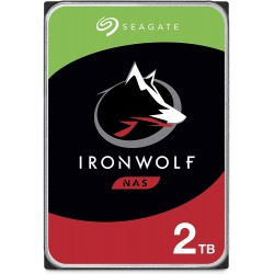 Seagate 3.5'' 2 TB Ironwolf ST2000VN004 SATA 3.0 5900 RPM Hard Disk