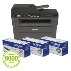 Brother MFC-L2716DW Wi-Fi + Tarayıcı + Fotokopi + Fax Mono Çok Fonksiyonlu Yazıcı