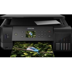 Epson L7160 Wi-Fi + Tarayıcı + Fotokopi Renkli Çok Fonksiyonlu Tanklı Mürekkep Püskürtmeli Yazıcı