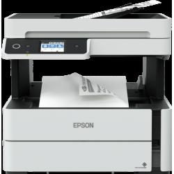 Epson M3170 Wi-Fi + Tarayıcı + Fotokopi + Faks Mono Çok Fonksiyonlu Tanklı Mürekkep Püskürtmeli Yazıcı