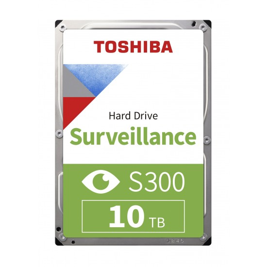 10TB TOSHIBA 7200RPM S300 SATA3 256MB 7/24 HDWT31AUZSVA 3 YIL GARANTİ