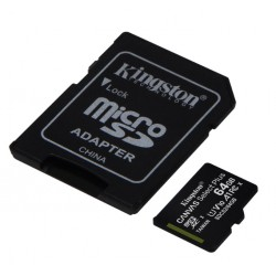 Kingston Canvas Select Plus 64GB 100MB/s SDCS2/64GB Micro SD Kart
