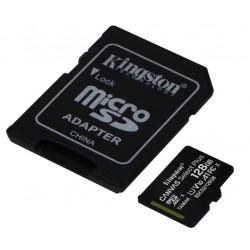 KINGSTON  128 GB CANVAS SELECT PLUS MICRO SDHC UHS-1 CLASS 10 100MB (SDCS2/128GB)