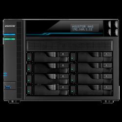 ASUSTOR AS-6508T 8 SLOT NAS I-2.1GHZ QUAD 8GB DDR4 2X10GIGALAN 2X2.5LAN