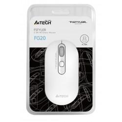 A4 Tech FG20 Optik Kablosuz Mouse Beyaz