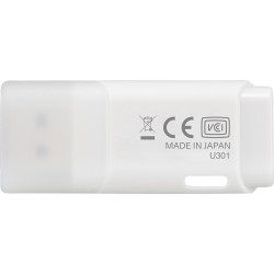 64GB USB3.2 GEN1 KIOXIA BEYAZ USB BELLEK LU301W064GG4