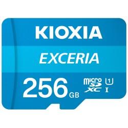 KIOXIA 256 GB EXCERIA MICRO SDXC UHS-1 CLASS 10 100MB/s (LMEX1L256GG2)