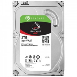 """Seagate 2TB IronWolf 3.5"""" 5900 64MB  ST2000VN004"""