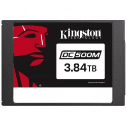 "Kingston 3.84TB DC500M 2.5"" 555/520  SEDC500M/3840G"